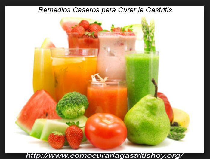 Recomendaciones de Remedios Caseros para Curar la Gastritis