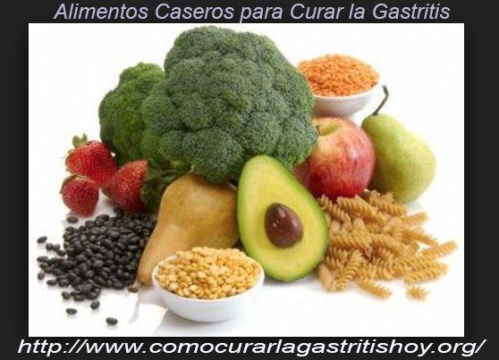 Alimentos naturales para combatir la gastritis