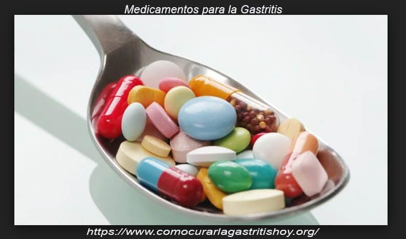 Diferentes medicamentos para gastritis