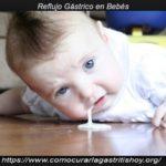 Como Aliviar el Reflujo en Bebés