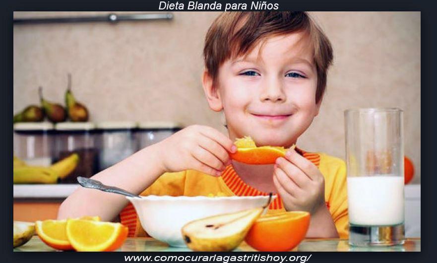 Alimentos para una Dieta Blanda para Niños