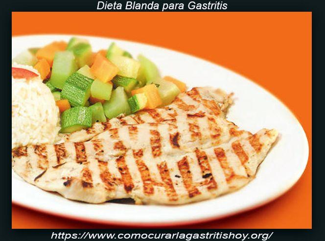 Dieta Blanda para Gastritis