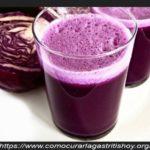 Como Curar la Gastritis con Repollo Morado
