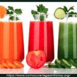 Jugos Naturales para Combatir la Gastritis y la Colitis
