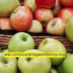 ¿La Manzana sirve para la Gastritis?