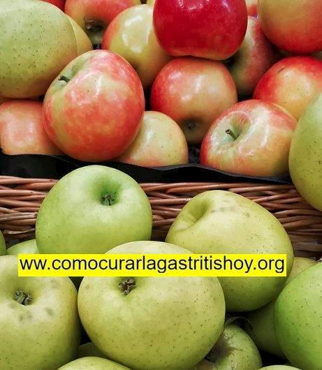 La manzana y la Gastritis